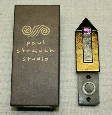 Unique Doorbell Ringer Stained Glass Lighted Paul Strauch Studio