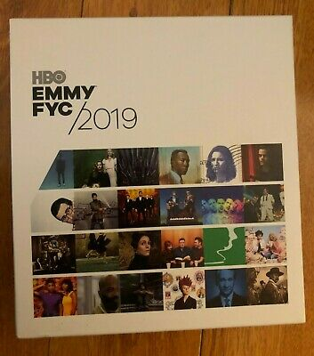 HBO FYC 2019 Emmy PROMO 34 DVD Box GAME OF THRONES VEEP BREXIT DEADWOOD O.G.