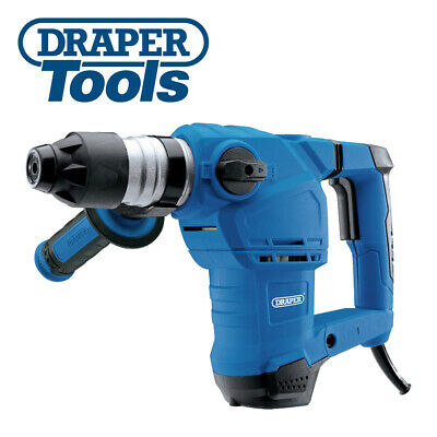 Draper 83589 Storm Force SDS+ Rotary Hammer Drill Kit with Rotation Stop (1250W)