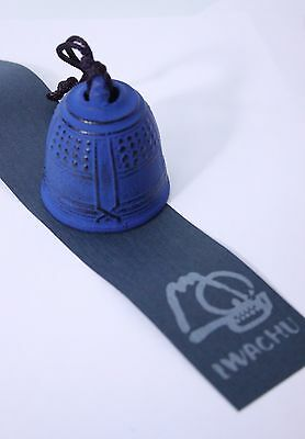風鈴 FURIN - Cloche à vent métal BLEU Made in Japan - Import Japon - BHTK