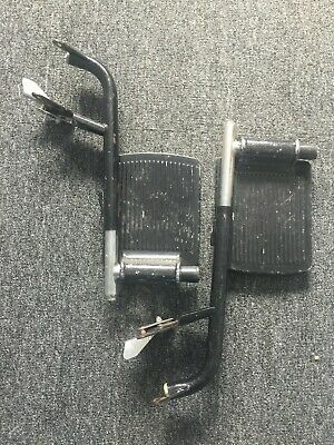 Pair Of Wheeltech Manual Wheelchair Footrests