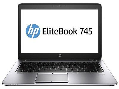 Elitebook 745 G2 Ultrabook AMD A8 Pro-7150B R5 4 GB DDR 3L RAM, 120GB SSD