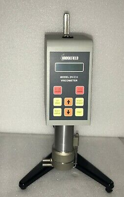 Brookfield HB DVII+CP High Viscosity Calibration Digital Viscometer /Stand/ Wrty