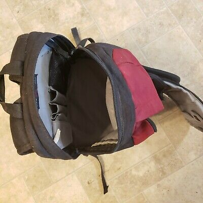 Lowepro photography red backpack (4 storage areas)