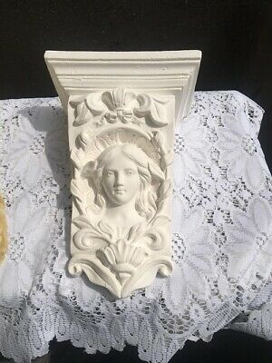Large Latex Mold Mould Corbel Sconce Garden Gift Crafts