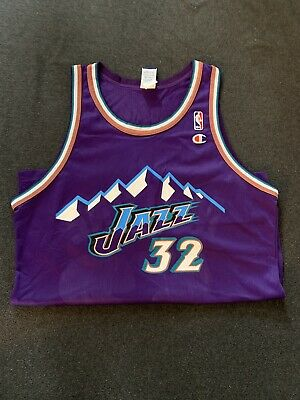 new concept f37bd ee6ae karl malone purple mountain jersey