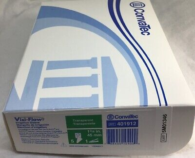 "4 CONVATEC 401912 Visi-Flow Irrigation Sleeve 1.75"" Exp 2020"