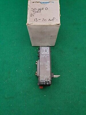 9065 DT Square D  Overload Relay  13 - 20 Amp