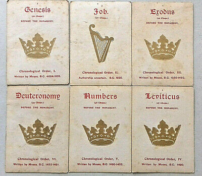 Antique Playing Card Game Very Rare Wide Unknown Plain Back 63 Cards 1850 - 70