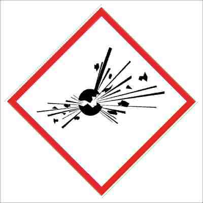 GHS Signs -  GHS01   Exploding bomb