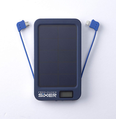 Christmas Sale Freeloader Sixer Solar Charger Battery Weatherproof Pack