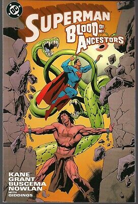 "Superman Blood Of My Ancestors Dc '03 Prestige Sc Tpb House Of ""El""  Founder Nm-"