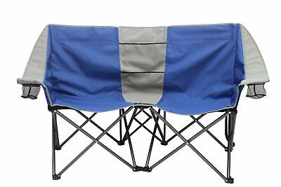 2 PERSON CONVERSATION CHAIR (Camping/Backyard/Gatherings) STURDY AND ROOMY - CAN
