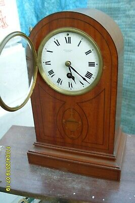 Mantel  Clock French  S . Marti Mappin & Webb  Time Piece Key Pendulum