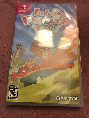 Little Dragons Cafe (Nintendo Switch, 2018) BRAND NEW