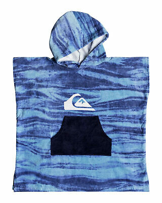 NEW QUIKSILVER™  Boys 2-7 Quiksilver Surf Poncho Hooded Towel Boys Children