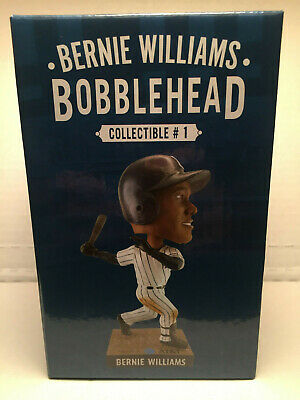 Bernie Williams Bobblehead Figurine Ny New York Yankees 2019 4/120/19 Sga Yankee