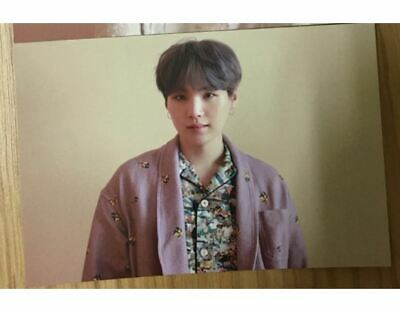 BTS Official Map Of The Soul Persona 2nd Week Suga BroadCasting Photo Card RARE