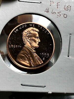 1993-S PROOF lINCOLN HEAD PENNY (SUPER NICE)*