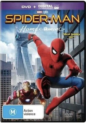 Spider-Man Homecoming Dvd New & Sealed- Free Postage!