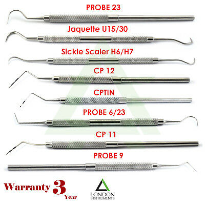 Dental Periodontal Probes Pocket Depth Probe Perio Examination Tooth Lab NEW