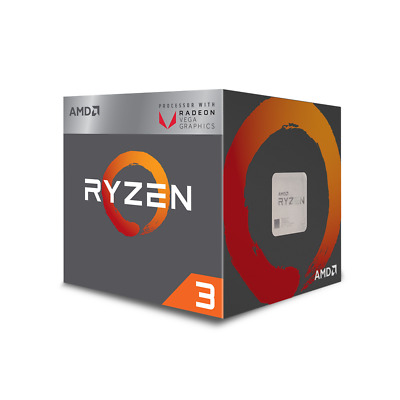 AMD RYZEN 3 2200G Quad core 3.7Ghz RX Vega graphics AM4 [F82] CPW-YD2200C5FBBOX
