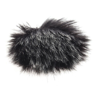 Andoer Furry Outdoor Microphone Windscreen Muff Mini Lapel Lavalier X6X3
