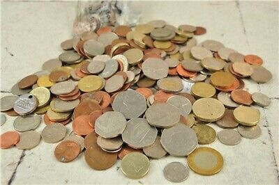 Job Lot of Old Mixed/Commemorative Nations Coins - Old Currency - 1.86Kg