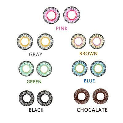 Coloured Contact Lenses Magnification Suction Mirror Film Mixed Blood Beauty