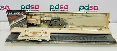 Brother KH-830 Knitting Machine Untested With How To Use Manual - X679
