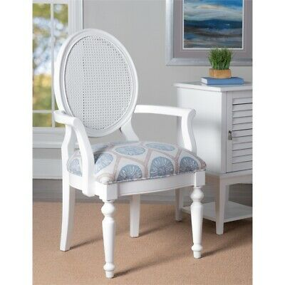 Powell Cilia Accent Chair in White