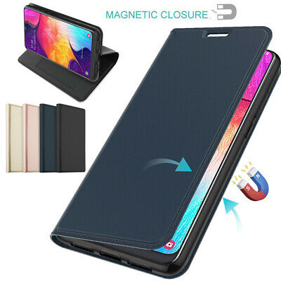 Magnetic Wallet Card Flip Case For Samsung Galaxy A10 A30 A70 M10 A9 2018