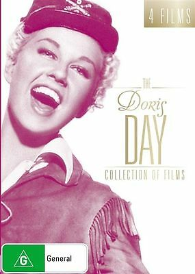 The DORIS DAY Collection Of Films DVD 4-MOVIES MUSCALS Lucky Me+... BRAND NEW R4