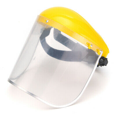Clear Grinding Safety FaceShield Screen Mask Visors For Eye Face Protection