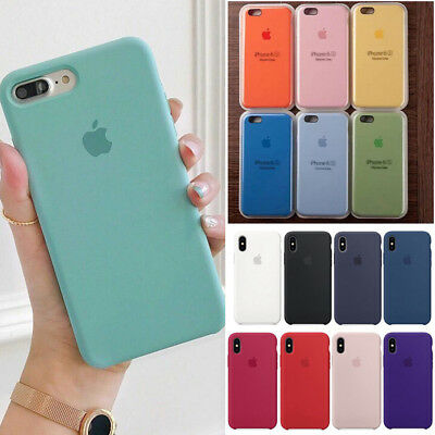 Silicone Case Silikon Hülle Fit For Apple iPhone 11 8 7 Plus XR XS Max