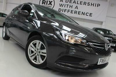 2016 66 Vauxhall Astra 1.6 Tech Line Cdti S/S 5D-1 Owner From New-0 Road Tax-Blu