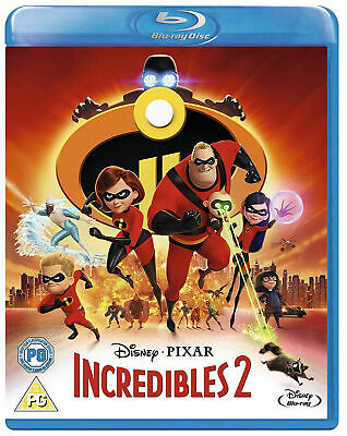 The Incredibles 2 (Blu-ray) NEW SEALED