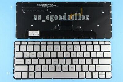 for HP ENVY 14-u185la 14-u187la 14-u290l Keyboard Palmrest backlit Latin Spanish