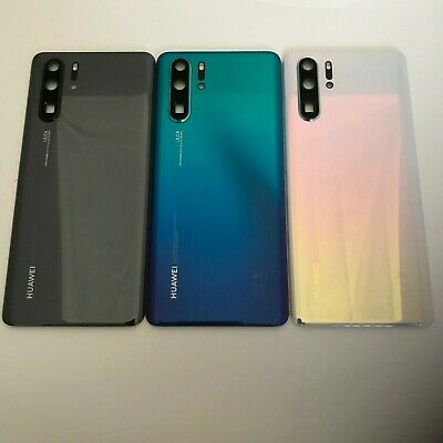 Genuine Huawei P30 PRO Battery Back Cover rear glass panel Camera Lens VOG-L29