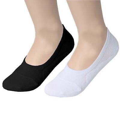 3 6 12 Pairs Womens invisible Socks Ladies Trainer Shoe Footsies Liner Size 4-7