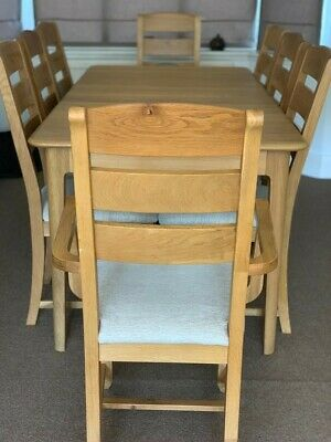 Fine John Lewis Rustic Solid Hardwood Dining Table With 8 Chairs Andrewgaddart Wooden Chair Designs For Living Room Andrewgaddartcom