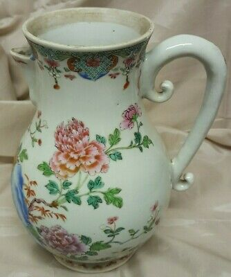 "Antique Early China Water Jug 10"" Tall Chinese Pottery"