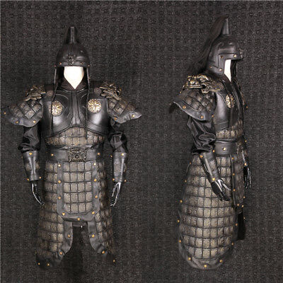 China Ancient Three countries Zhang Fei General helmet and armor