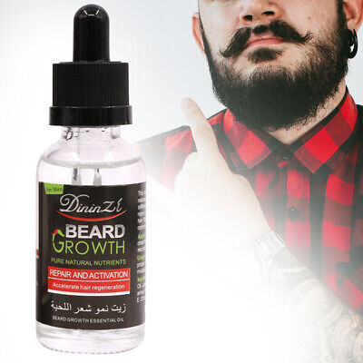 Beard Essential Oil Promotes Growth,Thicker,Fuller Face Hair,Premium Ingredients