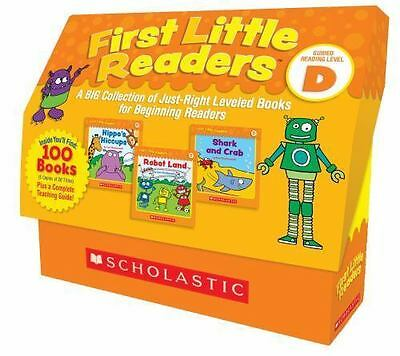 First Little Readers: A BIG Collection of Just-Right Leveled Books for Beginning