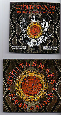WHITESNAKE Flesh & Blood (CD Album, Digi)