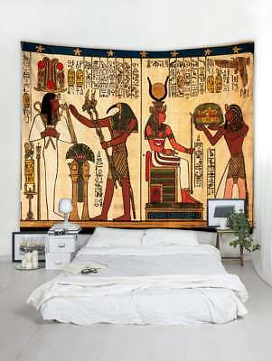 Ancient Egypt Printed Tapestry Wall Hanging Tapestries Wall Blanket Home Decor