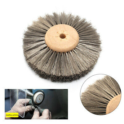 3 inch Stainless Steel Wire Abrasive Polishing Brush Wheel Grinding Disc