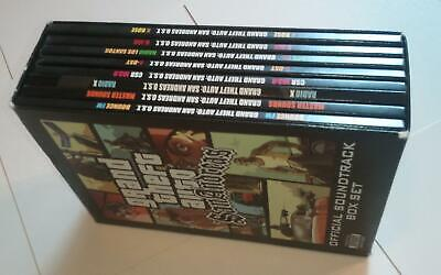 Grand Theft Auto San Andreas Official Soundtrack Box Set LIKE NEW -A MASTERPIECE