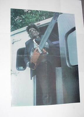 Texas Chainsaw Massacre Poster # 3 Leatherface w/ Chainsaw